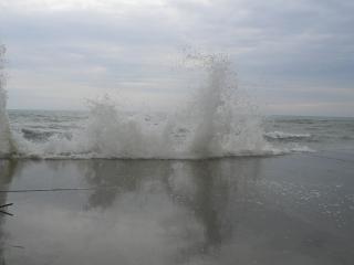обои Шторм на море фото