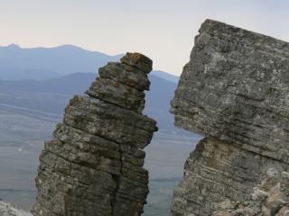 обои для рабочего стола: Гора Кок-люк весной