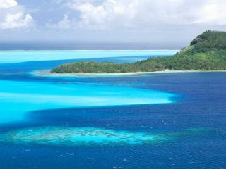 обои Тропический остров фото