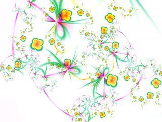 обои Танец цветов фото