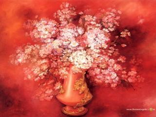 обои Цветы в кувшине фото