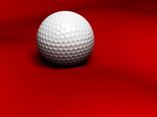 обои Мячик для гольфа фото