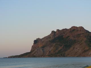 обои Гора Кара-Даг вид с моря фото