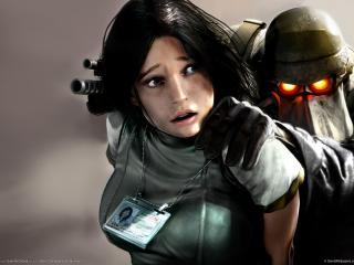обои Killzone liberation заложница фото