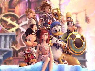 обои Kingdom Hearts фото