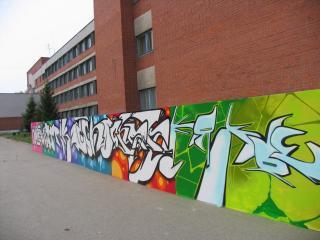 обои Жизнь в стиле граффити фото