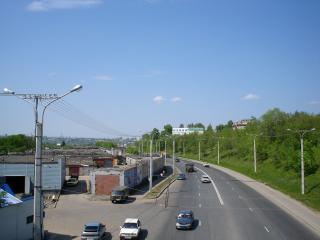 обои Одна из дорог Чувашской столицы фото