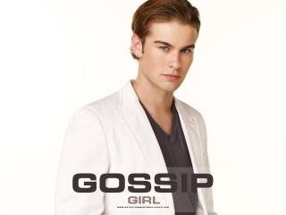 обои Gossip Girl in white jeket фото
