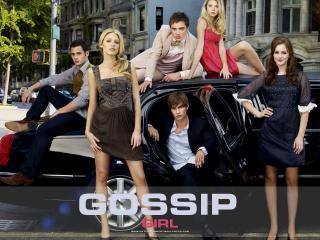 обои Gossip Girl limuzin фото