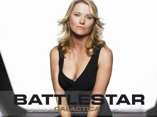 обои Battlestar Galactica Black dress фото