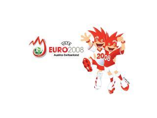обои Официальный талисман ЕВРО 2008 фото