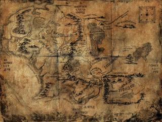 обои Карта мордора фото