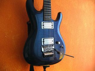 обои Синия гитара фото