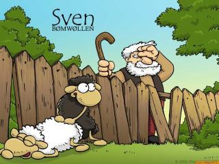 обои Свен, известный как Властелин овец: Братство конца фото