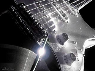 обои Рычажный механизм гитары фото