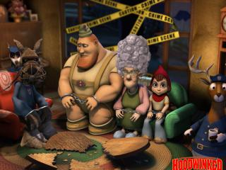 обои Hoodwinked Wallpaper фото