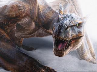 обои Monster hunter 2 динозавр фото