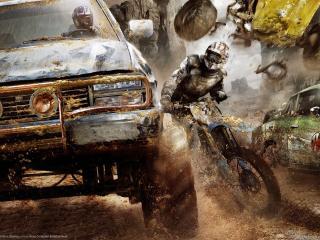 обои Motorstorm смертельные гонки фото