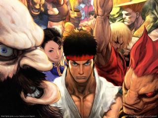 обои Street Fighter series фото