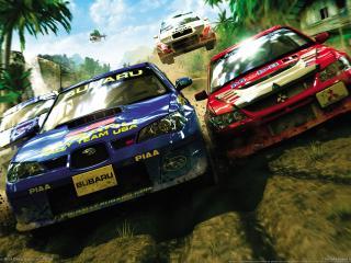 обои Sega rally revo гонка фото