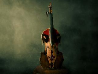 обои Скрипка без струн фото