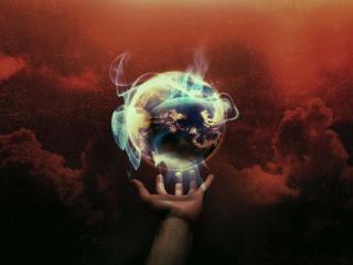 обои Волшебный шар - Земля фото