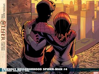 обои Friendly neighborhood spider man фото