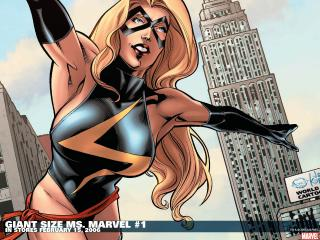 обои Marvel giant sizee MS. marvel фото