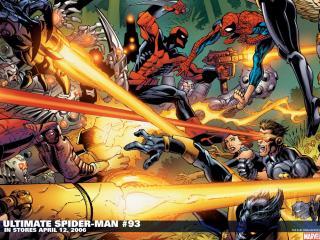 обои Ultimate spider man фото
