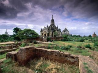 обои Bagan, Myanmar фото