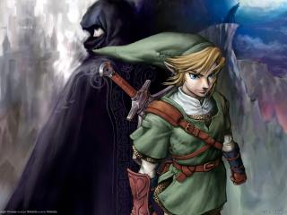 обои The legend of zelda twilight princess эльф фото