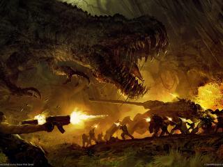 обои Turok динозавр фото