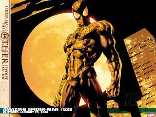обои Amazing spider man in stores january фото
