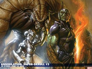 обои Annihilation super skrull фото