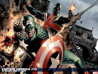 обои Captain america in june фото