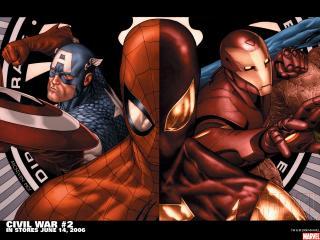 обои Civil war in june фото