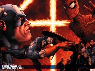 обои Civil war in may фото