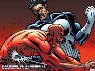 обои Daredevil vs. punisher фото
