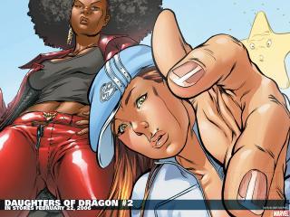 обои Daughters of dragon фото