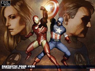 обои Fantastic four in june фото