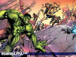 обои Incredible hulk in february фото