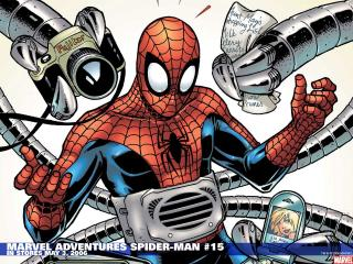 обои Marvel adventures spider man фото