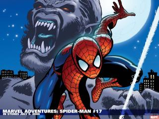 обои Marvel adventures spider man in july фото