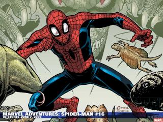обои Marvel adventures spider man in june фото