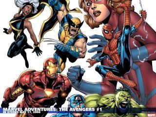 обои Marvel adventures the avengers in may фото