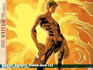 обои Marvel knights spider man in storres фото