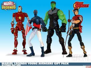 обои Marvel legends young avengers gift pack фото