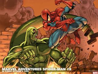 обои Marver adventures spider man фото