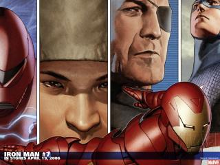 обои Iron man in april фото