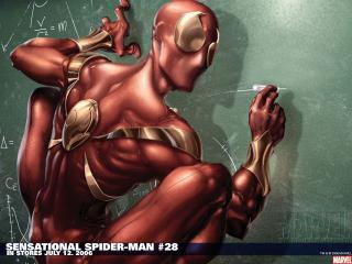 обои Sensational spider man фото